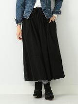 orslow / Gather Skirt Black オアスロウ BEAMS BOY ビームスボーイ スカート