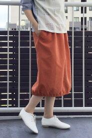 【SALE/60%OFF】LBC with Life ドロストリングスカート エルビーシー スカート スカートその他 オレンジ グリーン