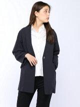 ドロップショルダーロングジャケット