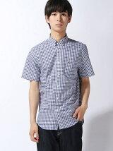 (M)チェックシャツ (半袖)