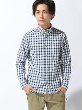 (M)QD BLOCK CHECK L/S SHIRT