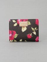 (W)VIVAYOU/フラワー柄2つ折り財布