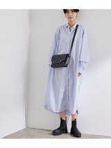 【Baserange】別注OLE SHIRT DRESS POPELINE