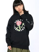 X-girlxJUNGLES DONT CARE SWEAT HOODIE