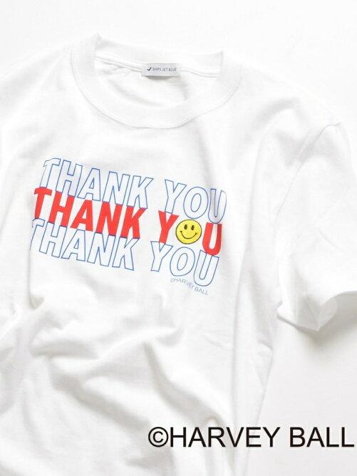 SMILE×SHIPSJETBLUE:SMILEプリントTシャツ