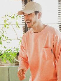 【SALE/30%OFF】BAYFLOW (M)スノーウォッシュワイドTLS ベイフロー カットソー Tシャツ オレンジ グレー パープル ベージュ