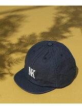 バックサテン ショートブリムBB CAP
