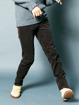 NO.62 SUPER SKINNY CORDULOY 5PKT PANTS