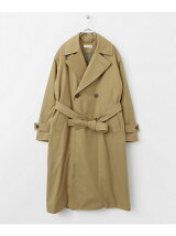 unfil flannel padded trench CT