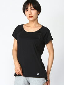 【SALE/20%OFF】ROXY (W)LIVE FOREVER TEE ロキシー カットソー Tシャツ ブラック レッド【送料無料】