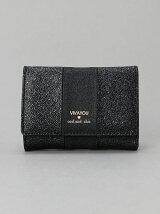 (W)VIVAYOU/メタリック合皮コンパクト財布