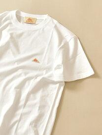 【SALE/25%OFF】SHIPS KELTY:SHIPS別注ロゴTシャツ シップス カットソー Tシャツ ホワイト ブラック ブラウン ピンク ブルー