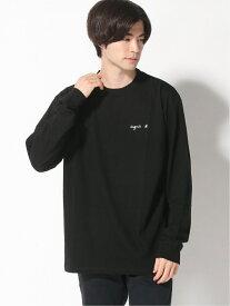 agnes b. HOMME agnes b. HOMME/(M)S179 Tシャツ アニエスベー カットソー Tシャツ ブラック ホワイト ネイビー【送料無料】