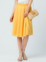 楊柳刺繍スカート