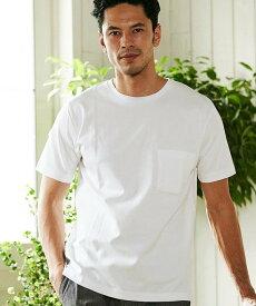 【SALE/50%OFF】MEN'S BIGI 【マーキュリー加工】ポンチTシャツ メンズ ビギ カットソー【RBA_S】【RBA_E】