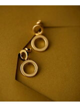 Vintage Round Pierced Earing