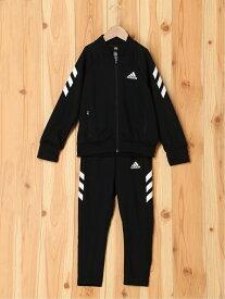 【SALE/30%OFF】adidas Sports Performance XFG トラックスーツ(ジャージセットアップ) [XFG Track Suit] アディダス(キッズ/子供用) アディダス コート/ジャケット キッズアウター ブラック ブルー【送料無料】
