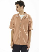 S/S OPEN COLLAR SHIRTS