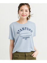 カレッジプリントTシャツ