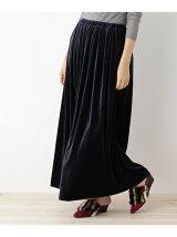 ベロアマキシスカート