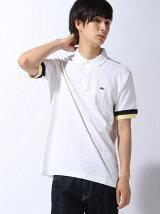 (M)パネル柄ポロシャツ