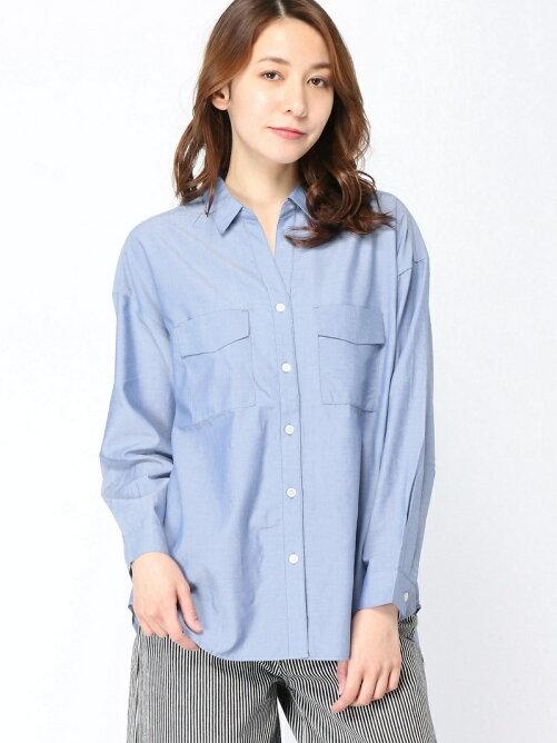 スキッパームジシャツ/LS