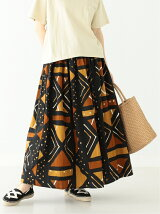orslow × BEAMS BOY / 別注 African Print Skirts