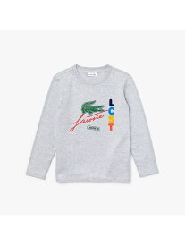 【SALE/30%OFF】LACOSTE BOYSミックスロゴデザインロングスリーブシャツ ラコステ カットソー Tシャツ【送料無料】