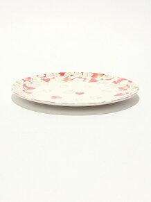 イチゴ柄メラミンプレート 20cm