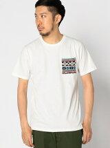 【OCEANS10月号掲載】ビーミング by ビームス / トライバル ポケットTシャツ BEAMS ビームス
