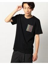 ビーミング by ビームス / トライバル ポケットTシャツ BEAMS ビームス
