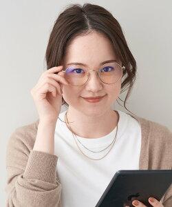 Zoff (U)ボストン型 PCメガネ(ブルーライトカット率約50%) ゾフ ファッショングッズ メガネ ゴールド ブラック【送料無料】