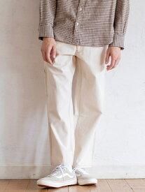 【SALE/20%OFF】coen SMITH'S別注ペインターワイドパンツ# コーエン パンツ/ジーンズ フルレングス ホワイト ブラウン【送料無料】