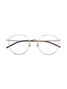 Zoff (U)ボストン型 PCメガネ(ブルーライトカット率約35%) ゾフ ファッショングッズ メガネ ゴールド ブラック【送料無料】