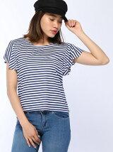 ラッフルロゴTシャツ