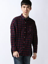 (M)国産チェックビッグシャツ