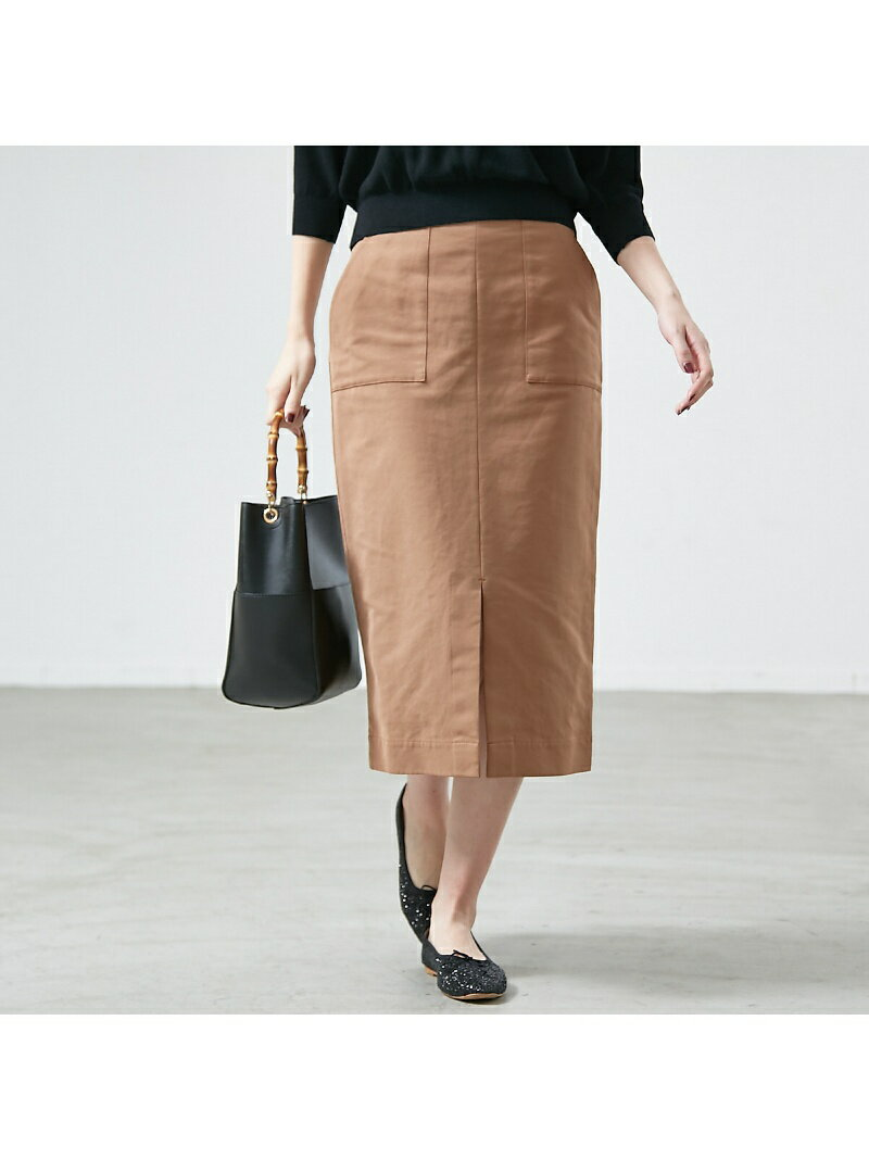 Rouge vif la cle ポケット付きタイトスカート ルージュ・ヴィフ ラクレ【送料無料】
