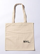 <MHL.> CT DRILL TOTE/トートバッグ