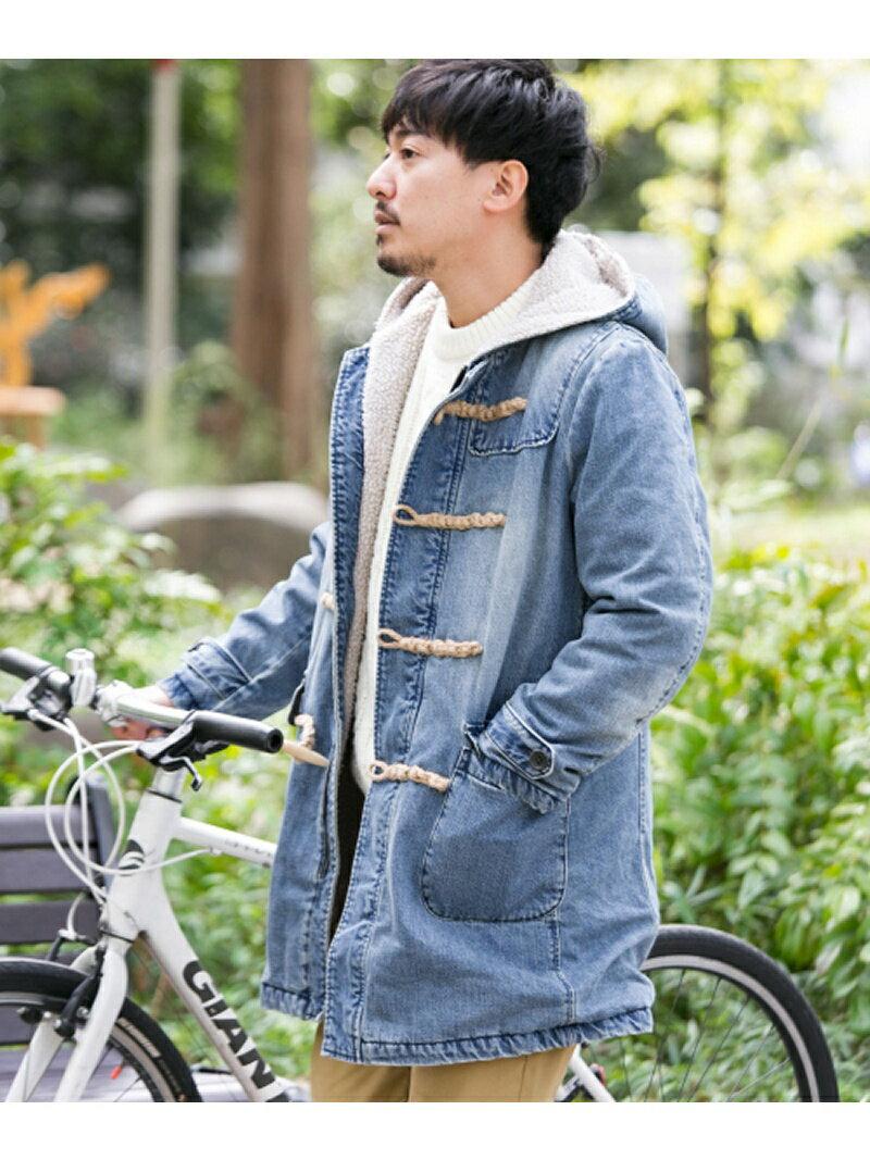 Sonny Label デニムボアダッフルコート サニーレーベル コート/ジャケット【送料無料】