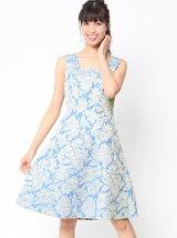 ゴージャスラメフラワースプリングドレス