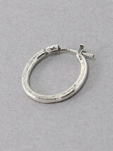 Hammered Hoop Pierce