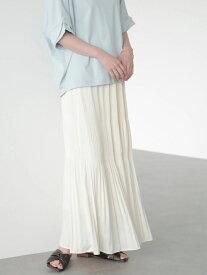 【SALE/67%OFF】AMERICAN HOLIC マジョリカプリーツスカート アメリカン ホリック スカート フレアスカート ホワイト ブラウン ブルー