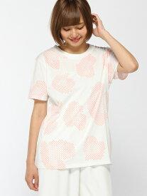 nina mew ヒョウ柄Tシャツ ニーナミュウ カットソー Tシャツ ホワイト グレー カーキ【送料無料】