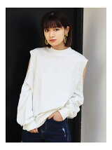 FRILL SHOULDER TOP