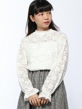 RETRO GIRL/起毛レースP/O