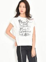 PLUS-ロゴTシャツ