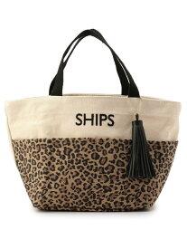 SHIPS WOMEN タッセルポケットトートバッグ◇ シップス バッグ バッグその他 ブラウン ブラック グリーン