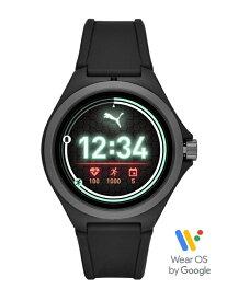 【SALE/40%OFF】PUMA PUMA SMARTWATCH/(U)PUMA SMARTWATCH_PT9100 ウォッチステーションインターナショナル ファッショングッズ 腕時計 ブラック【送料無料】