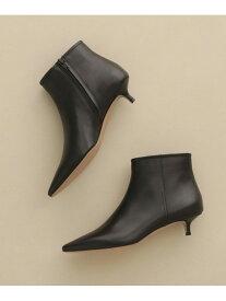 【SALE/50%OFF】PELLICO SOFT POINTED SHORT BOOTS 3.5cm ナノユニバース シューズ ロングブーツ ブラック【送料無料】