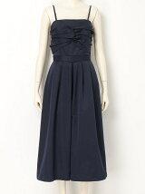 Ladyツイストベアガウチョドレス